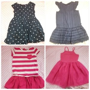 4 toddler girl 4T dress bundle